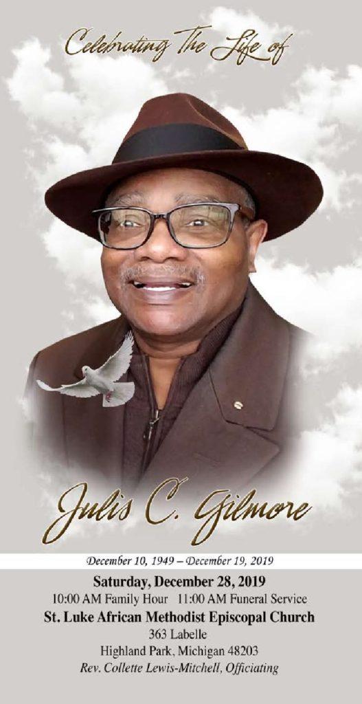 JULIS GILMORE 1949-2019