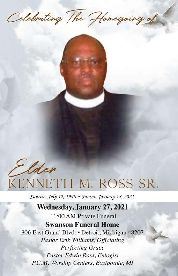 Kenneth Ross Sr. 1948-2021